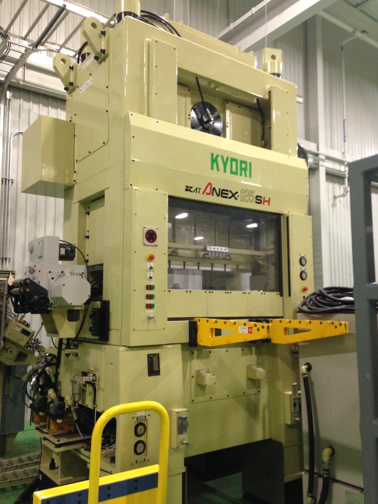 Kyori Anex-125SH High Speed Straight Side Press
