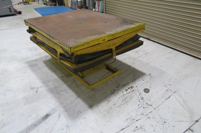 American Lifts Table, 3000 lb Capacity
