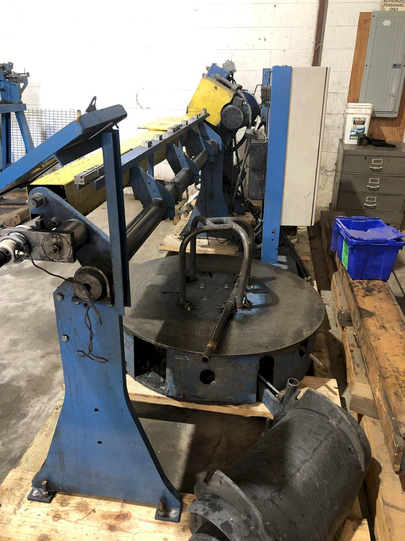 """1/4"""" RMG Model 14 Wire Straighten & Cut Machine"""