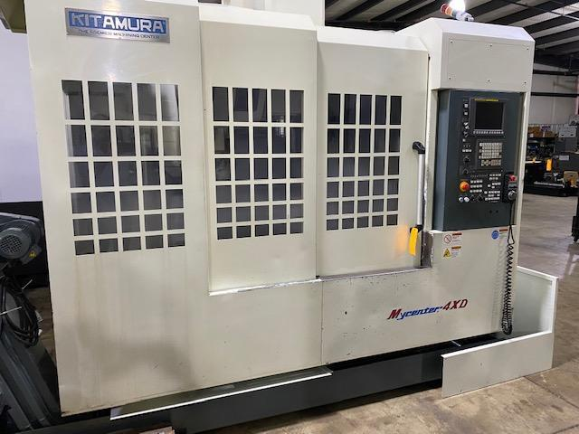 Kitamura MYCENTER 4XD Vertical Machining Center, Mfg. 2013