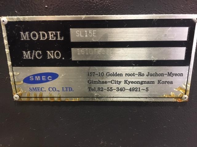 Samsung SL-15E Horizontal CNC Lathe