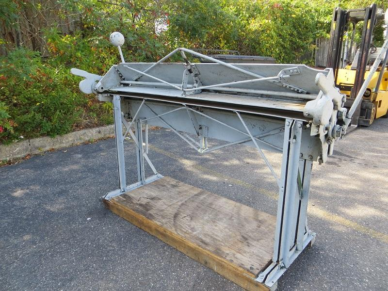 18 Ga  x 5 ft Chicago Hand Brake Model 4C