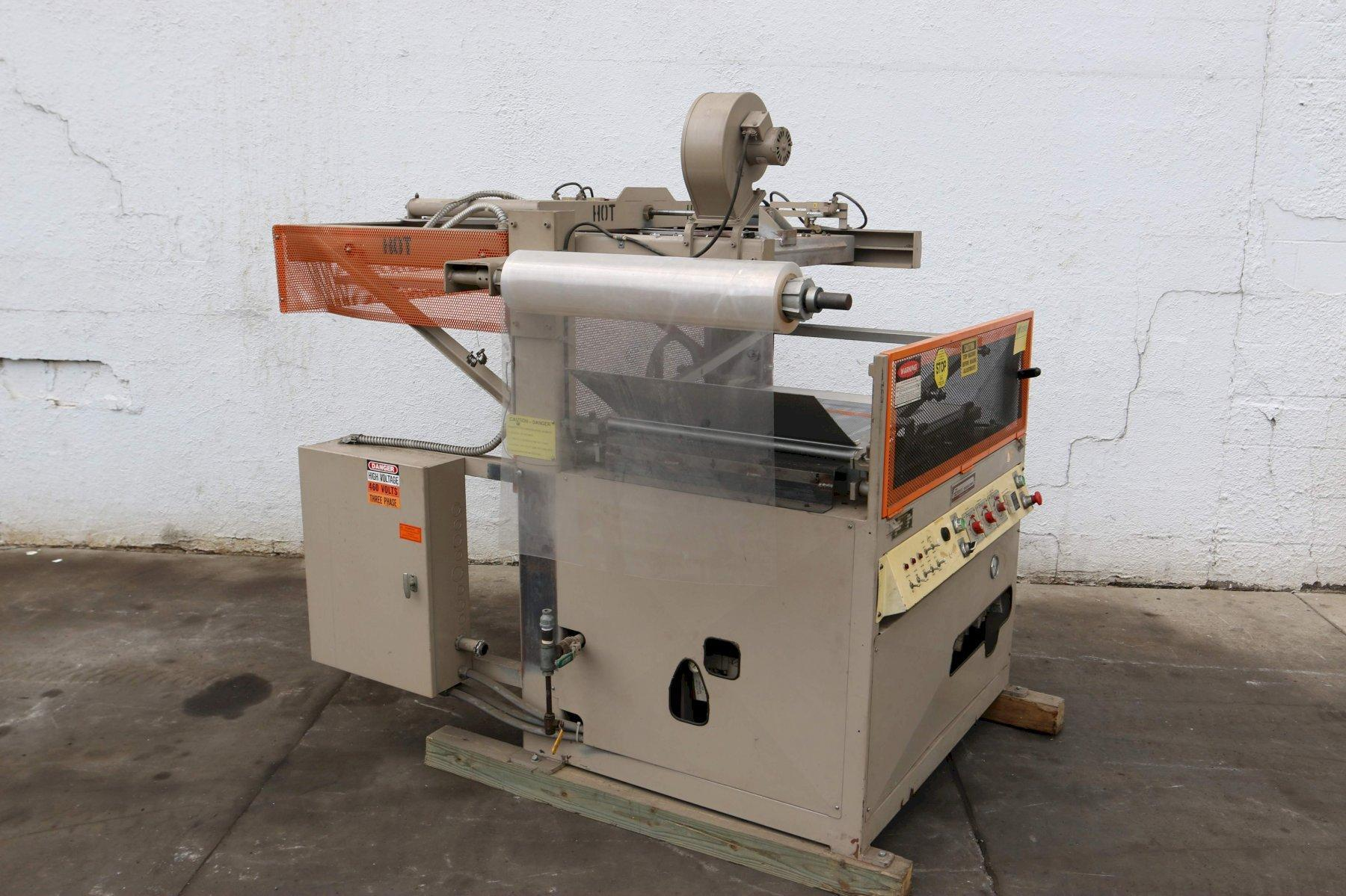 24' X 30' ZED INDUSTRIES BLISTER PACKAGING SEALER MACHINE: STOCK 70692