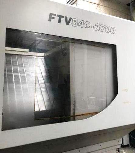 """Cincinnati Lamb FTV 840/3700, Fanuc 18iMB CNC Control, 169"""" x 32"""" Table, X=145"""", Y=32"""", Z=32"""", 15,000 RPM Spindle, 50 ATC, New 2008."""