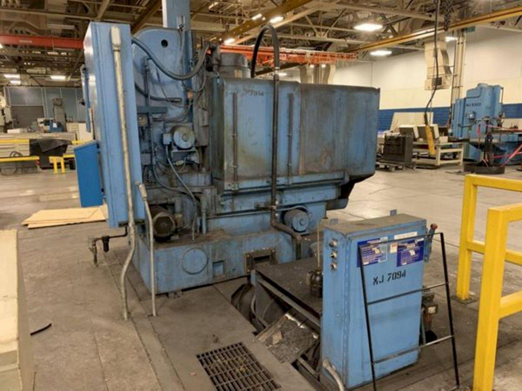 """42"""" BLANCHARD MODEL 18-42 ROTARY SURFACE GRINDER. STOCK # 0737821"""