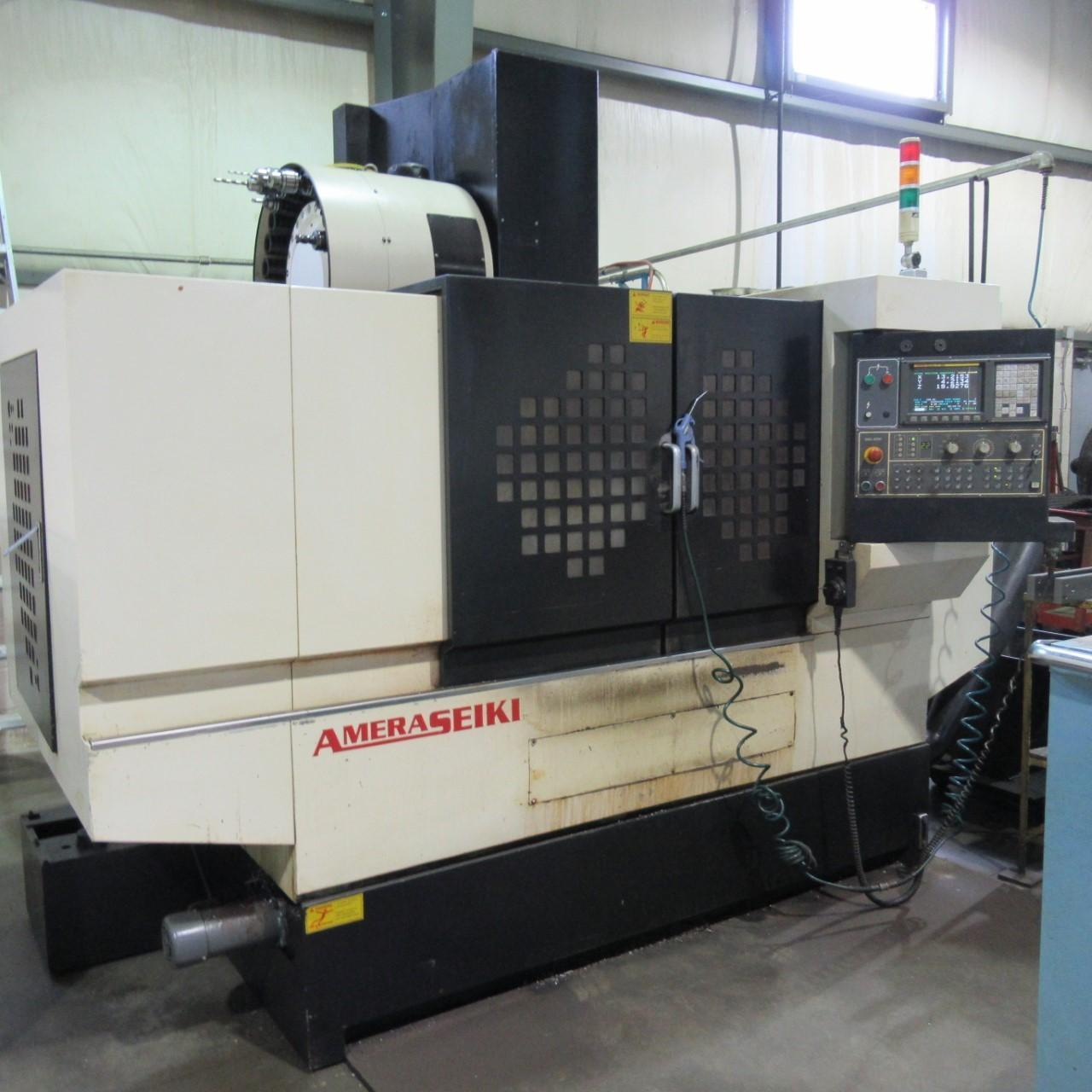 Amera Seiki A3 Vertical Machining Center Year: 2004