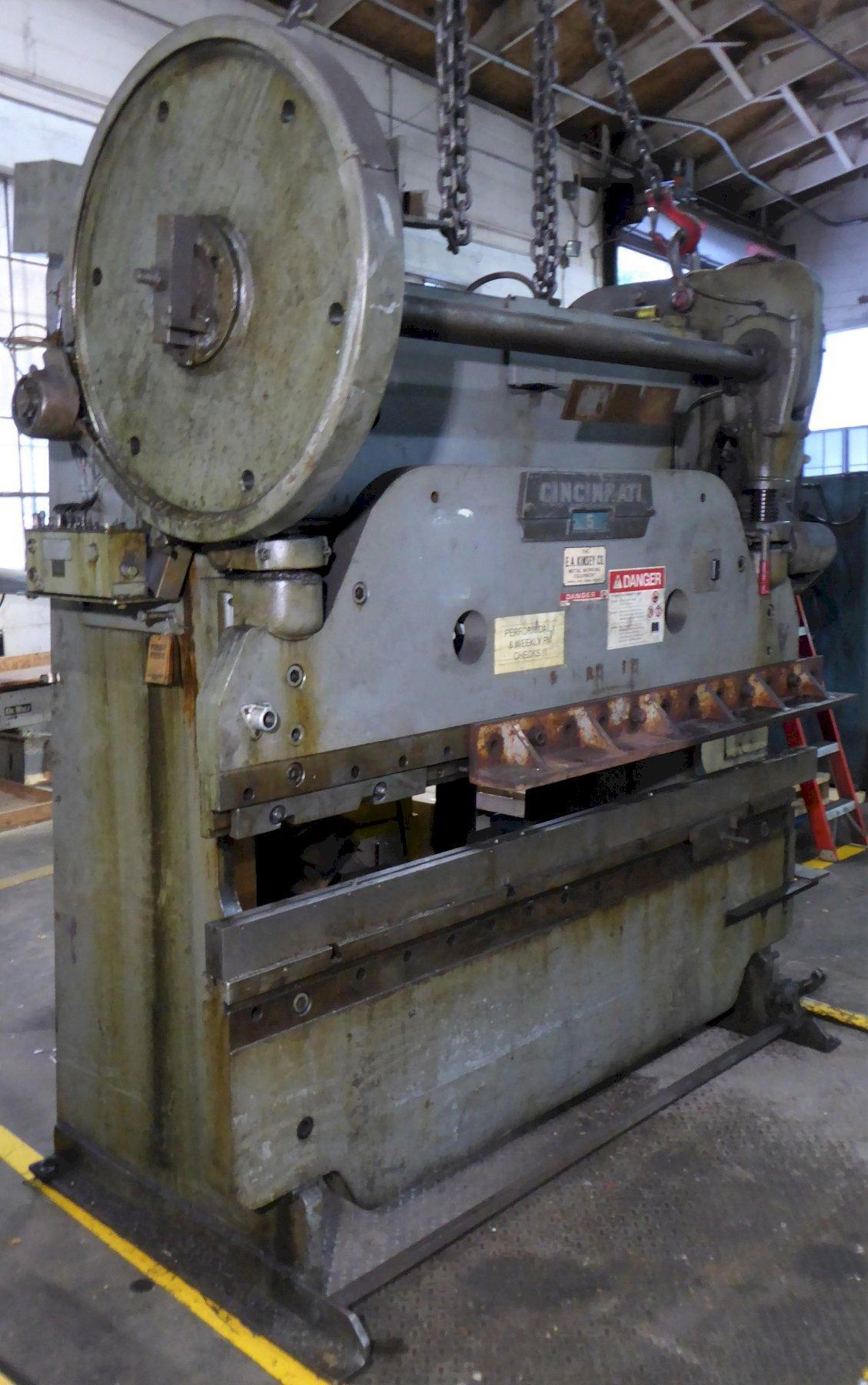 "90/135 Ton Cincinnati Mechanical Press Brake, 8' OA, 6'6"" B.H., Low Price"