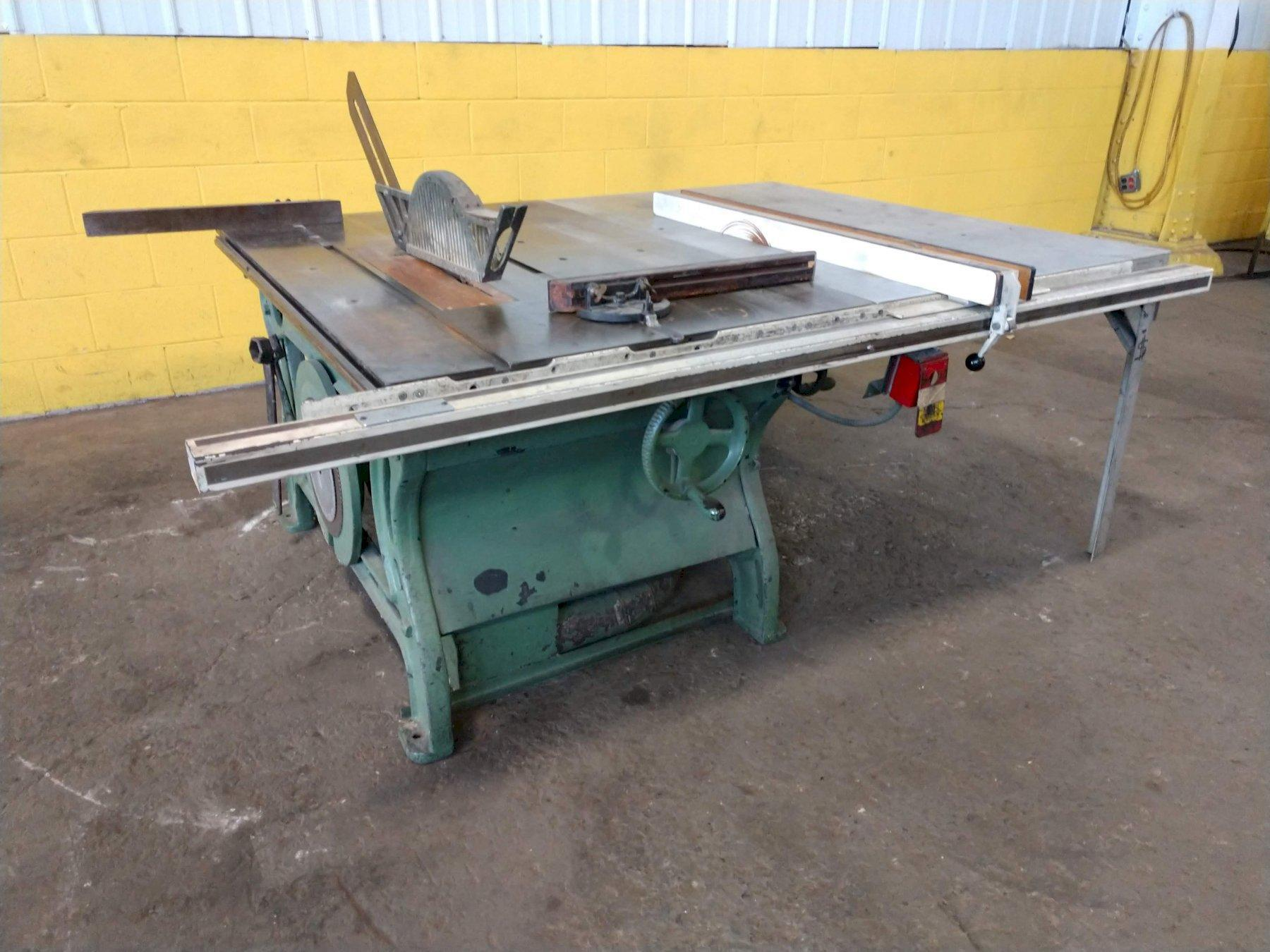 WOOD TABLE SAW: STOCK#12628