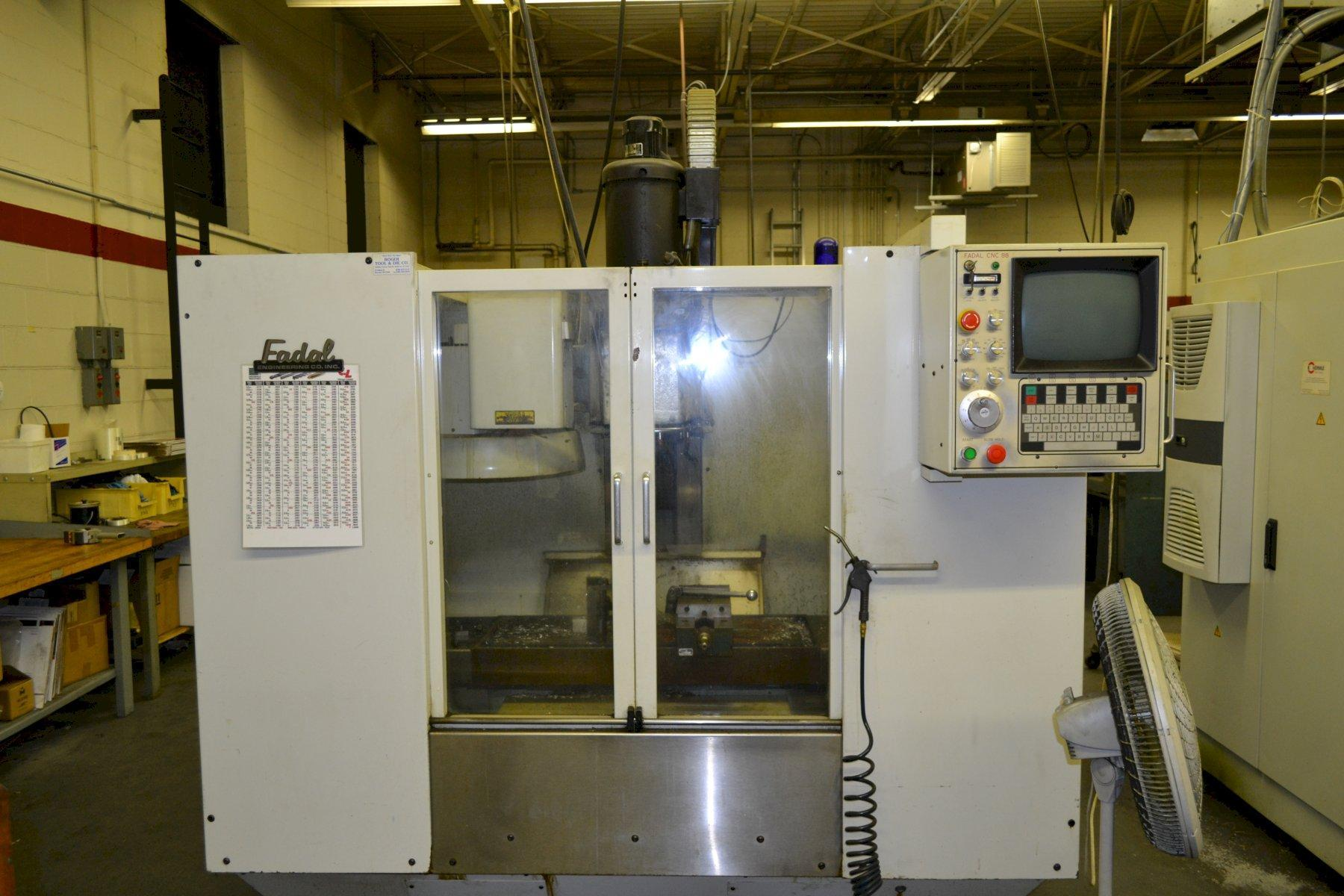 Fadal Model VMC-40 Vertical Machining Center