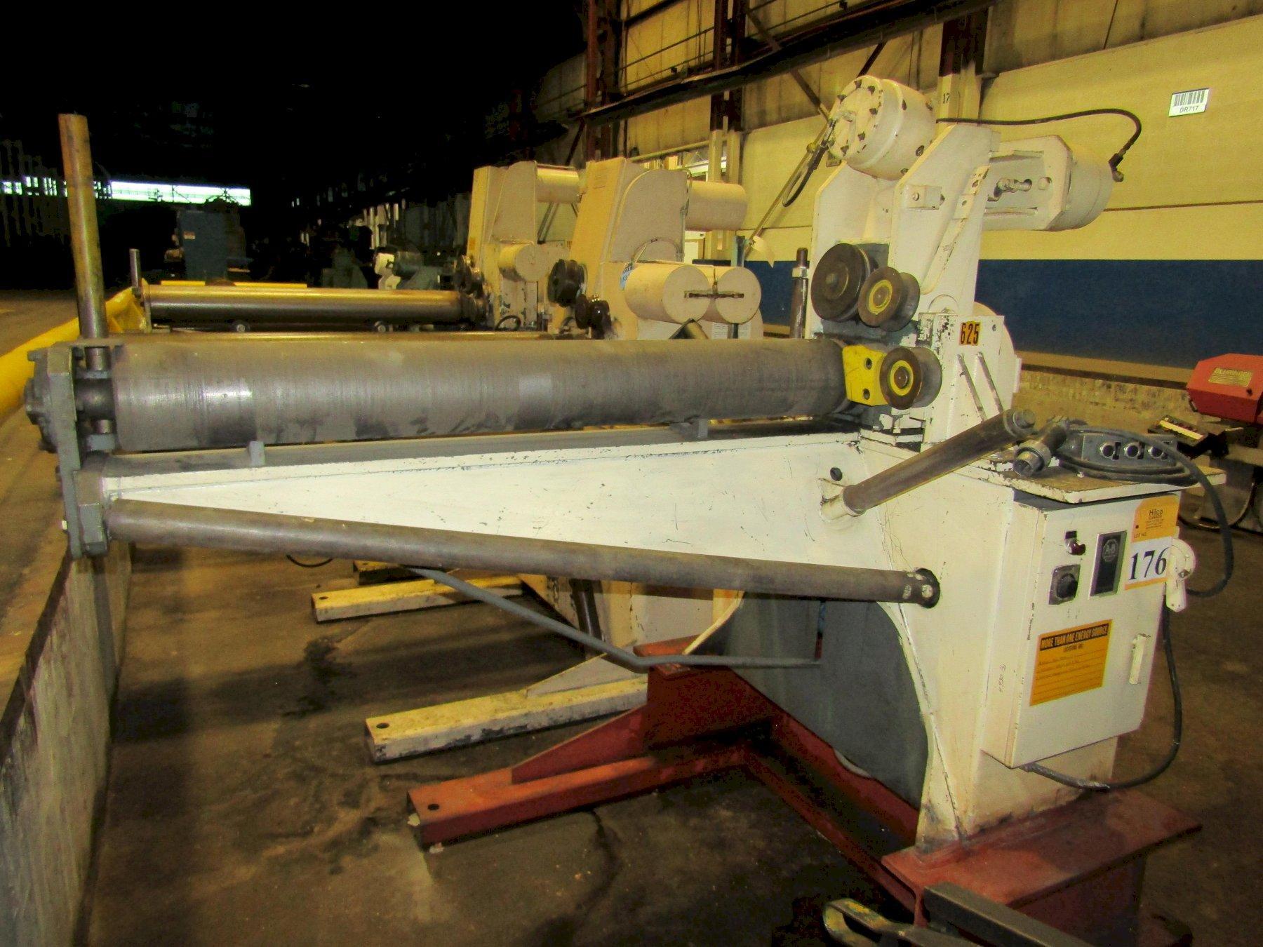 "1 1/4"" Fastener Engineers Model PF-6000-08 Uncoiler"