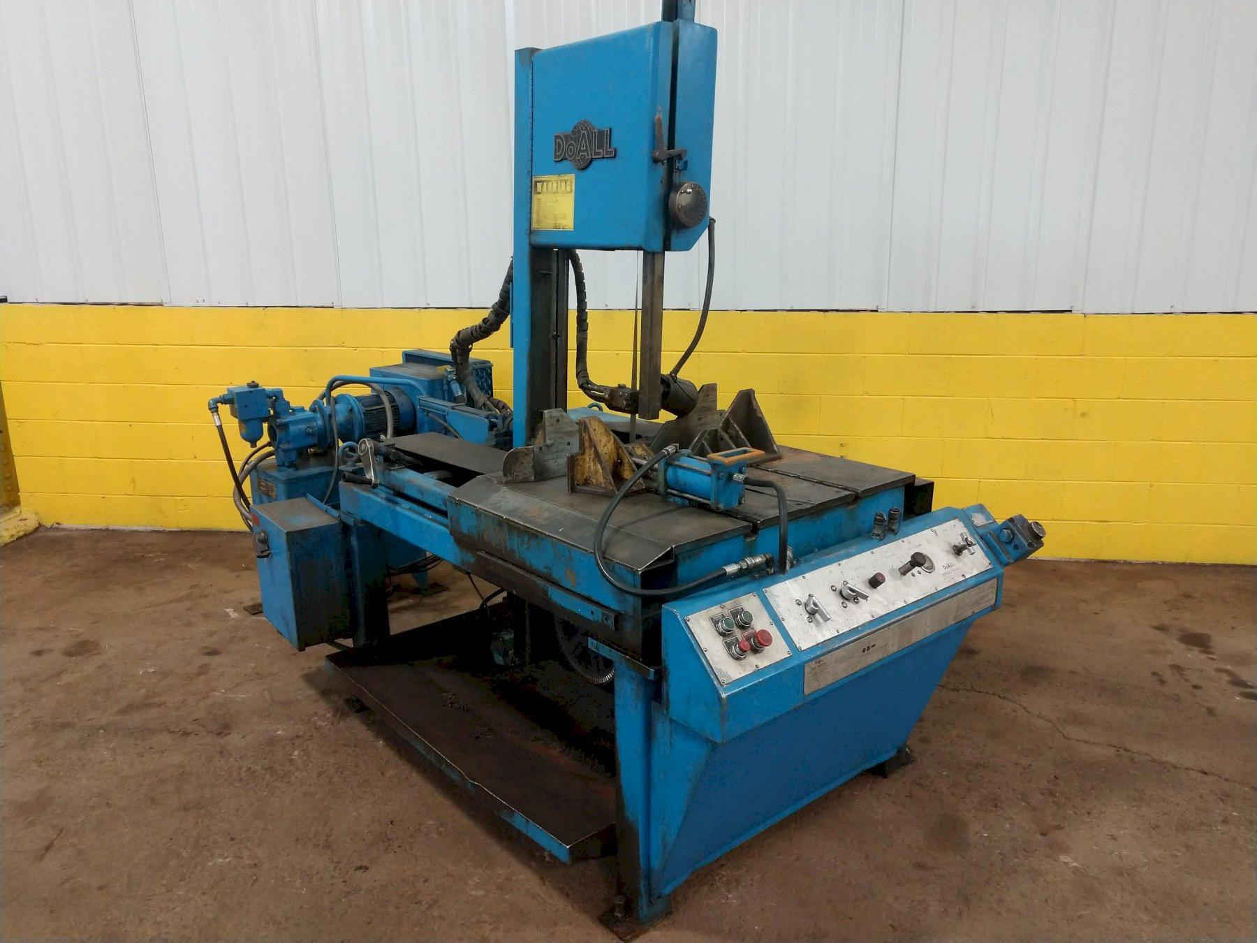 "14"" X 21"" DOALL MODEL TF-1421H HYDRAULIC VERTICAL BAND SAW: STOCK #12991"