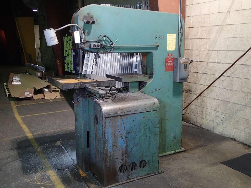 "DOALL 36"" VERTICAL BAND SAW, STOCK# 13881J"
