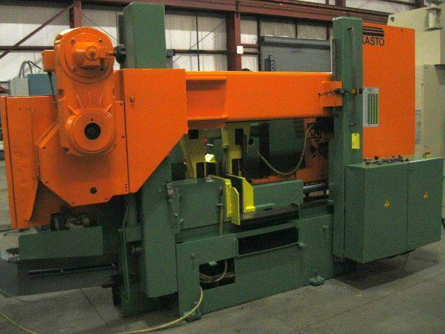 "20"" x 20"" Kasto Model HBA-520 AU Automatic Twin-Post Horizontal Band Saw"