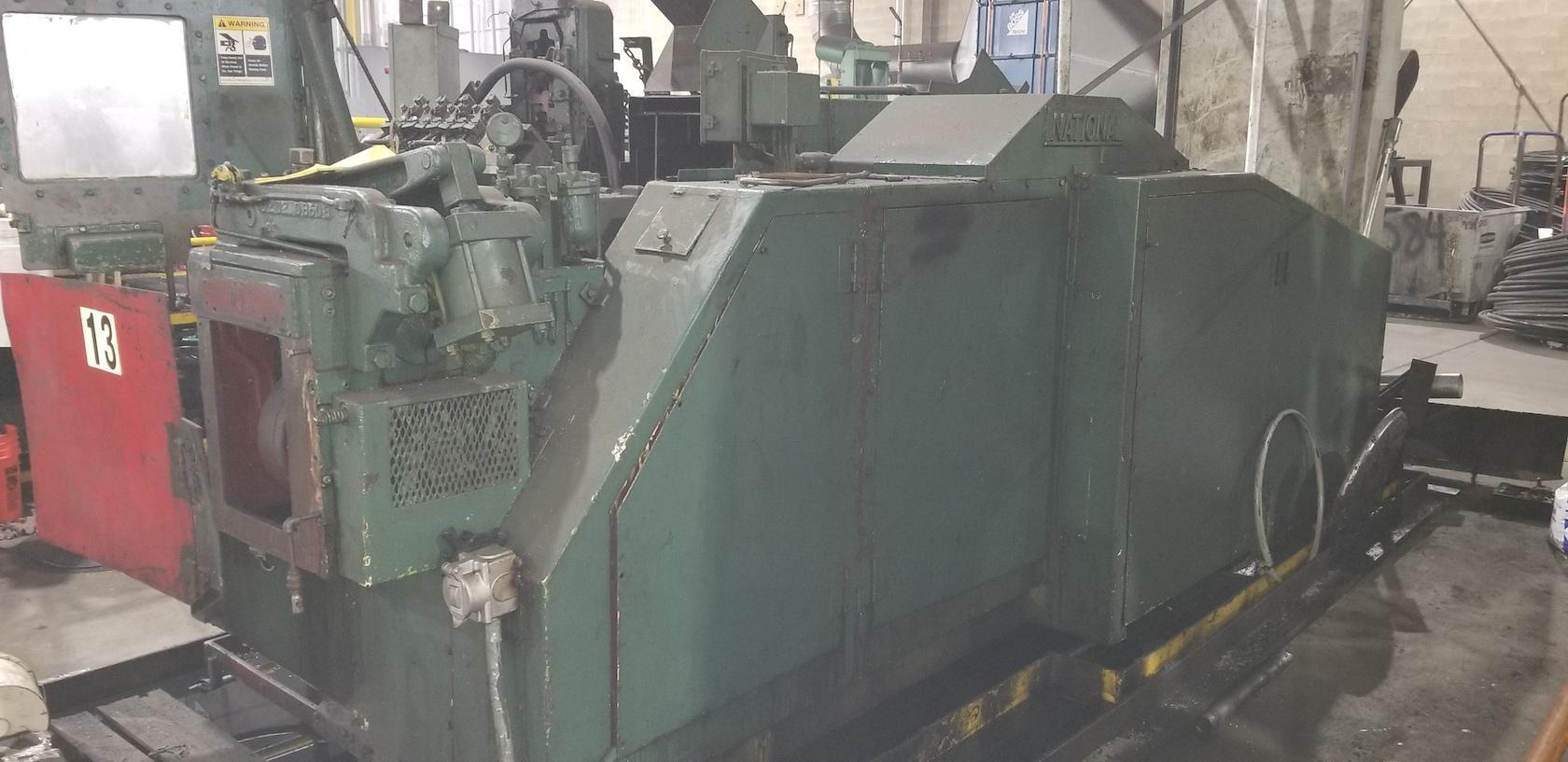 """One Used 3/8"""" National Model S3 Four Die Boltmaker"""