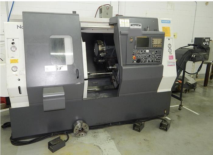 Nakamura-Tome SC300 CNC Lathe, Fanuc 21iTB, 10