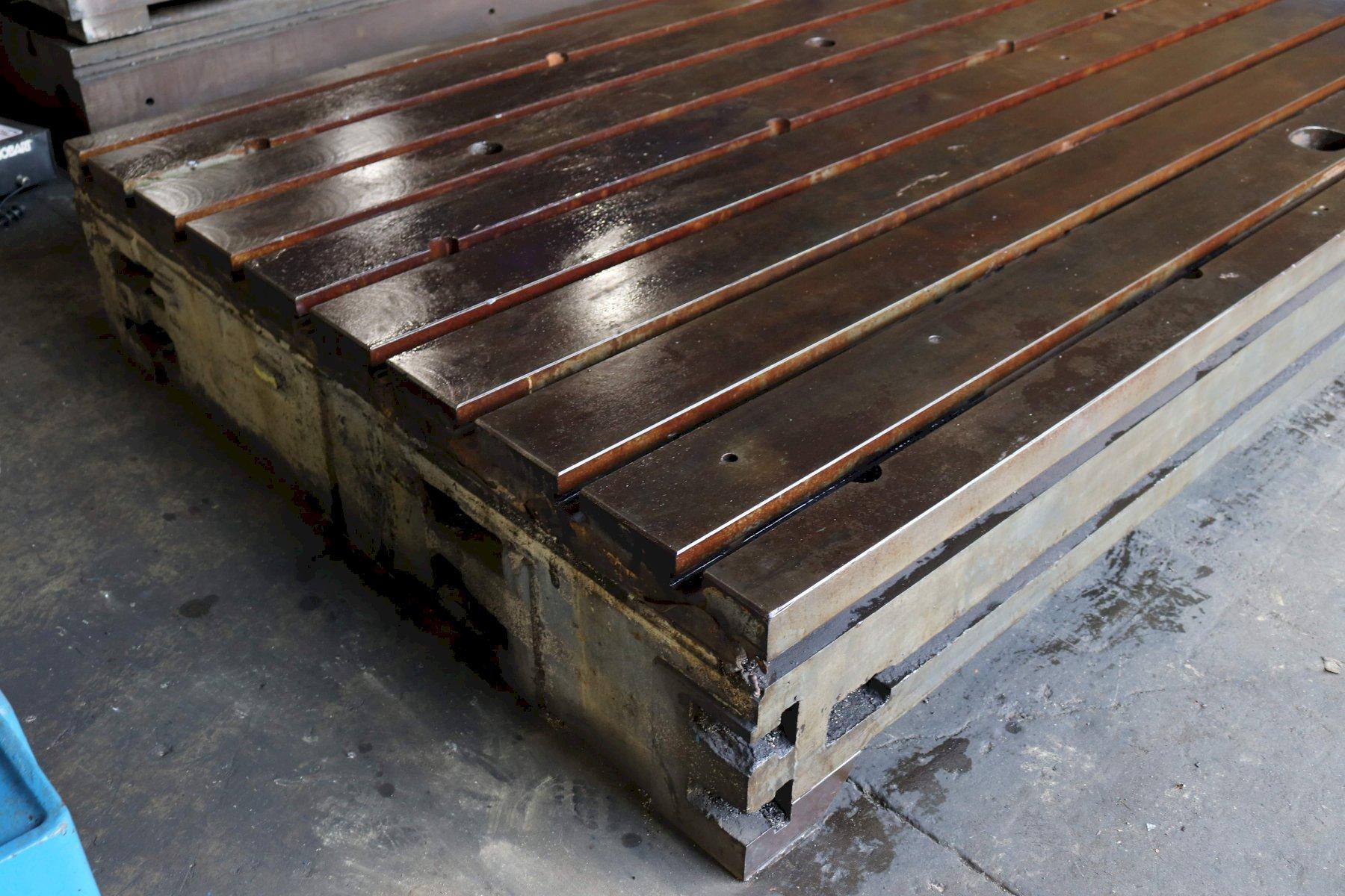 163' X 78-1/2' X 14' CUSTOM T SLOTED FLOOR PLATE STK #73258