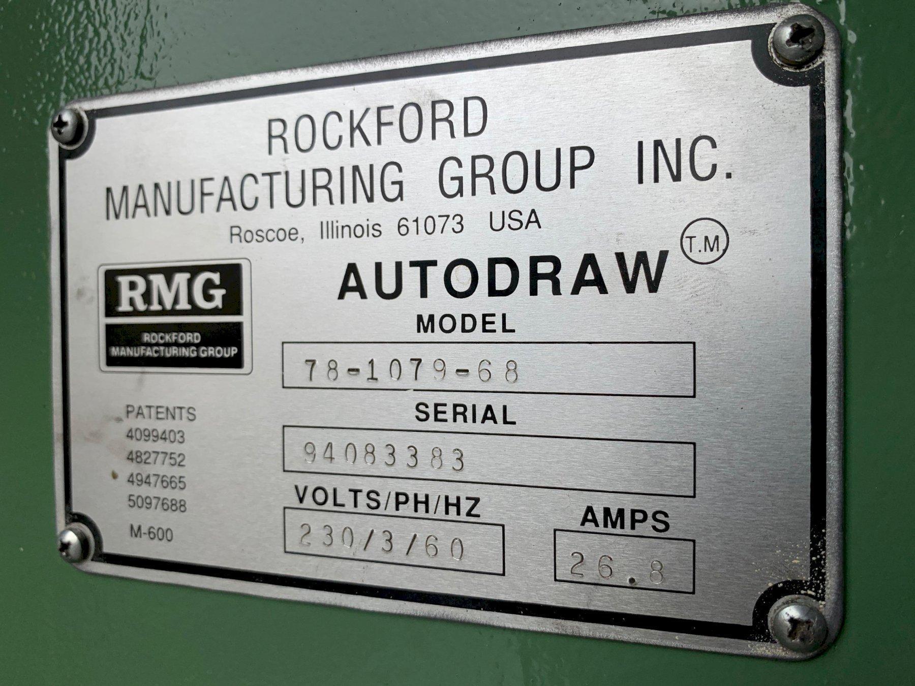 "1/2""  RMG 78-1078-68 Wire Drawer"