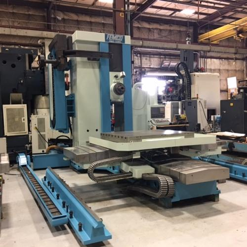 FEMCO BMC-110R2 CNC HORIZONTAL BORING MILL WITH BUILT IN ROTARY TABLE