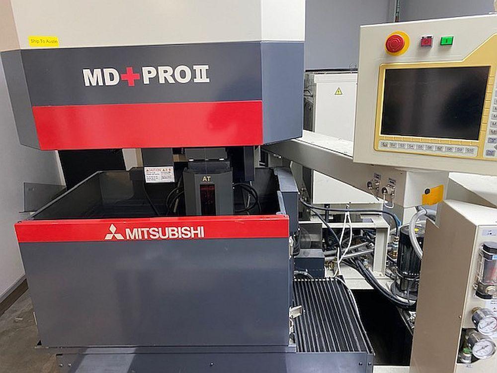 Mitsubishi MD+PRO II CNC Wire EDM - 2007