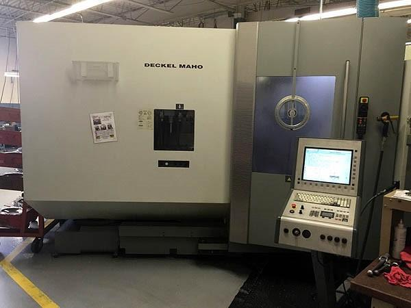 DMG (2) Model 60T 5-Axis CNC Vertical Machining Centers, New 2004 W/ 20 POSITION FASTEMS PALLETECH SYSTEM