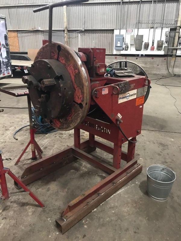 3,000 Lbs. Preston-Eastin Welding Positioner