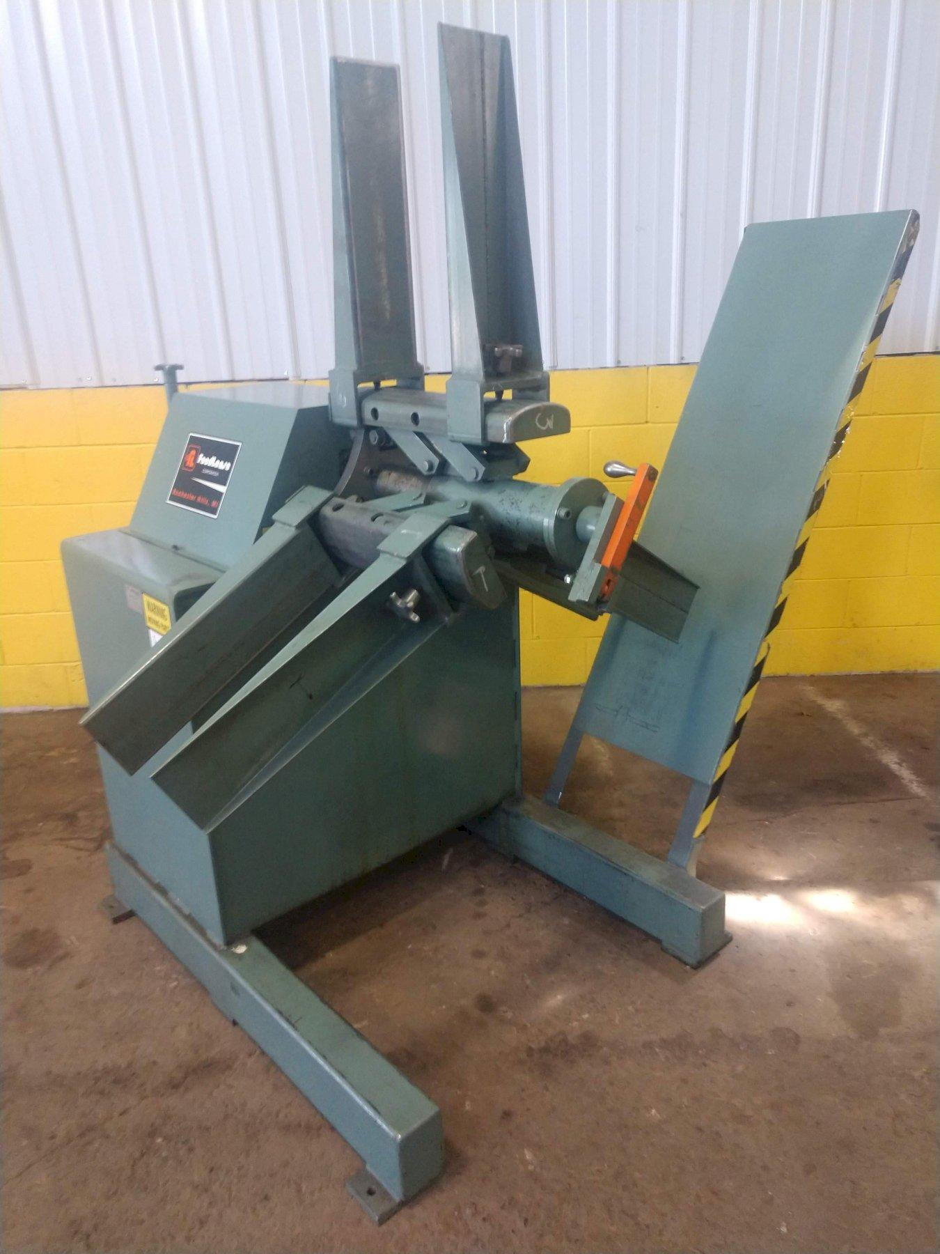 """6000 LB X 12"""" FEED LEASE MODEL #R-46M-12 NON MOTORIZED COIL REEL: STOCK 11286"""