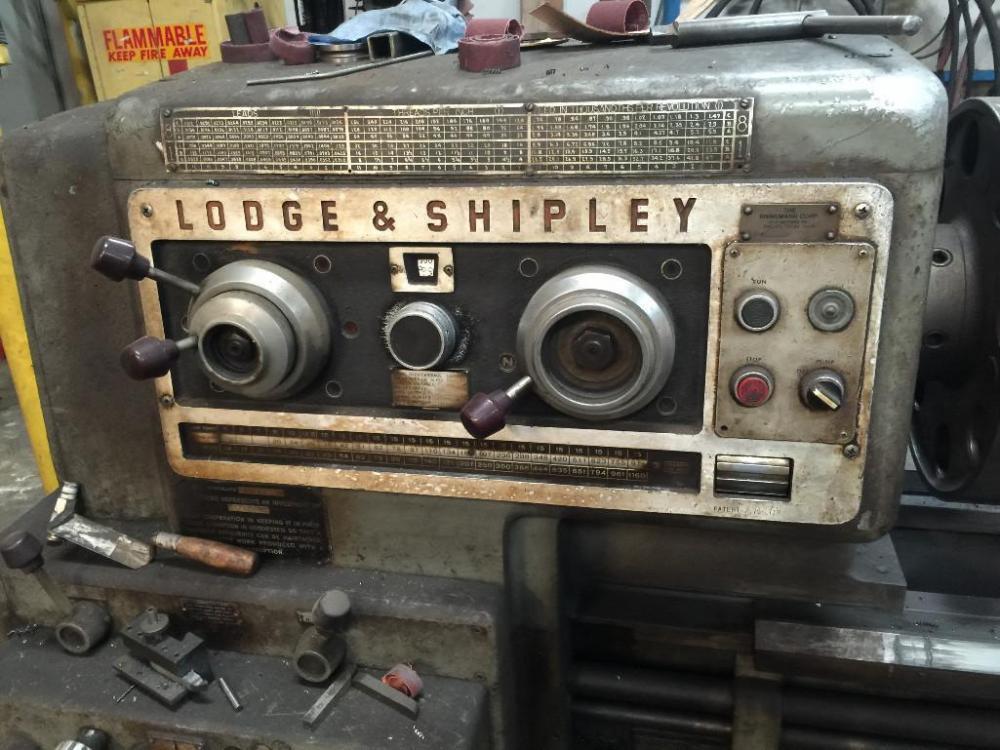 """26"""" X 102""""  LODGE & SHIPLEY ENGINE LATHE: STOCK #66064"""