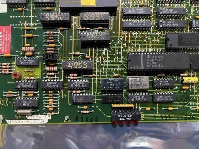 ACRAMATIC 950 BOARD 3-533-0527G