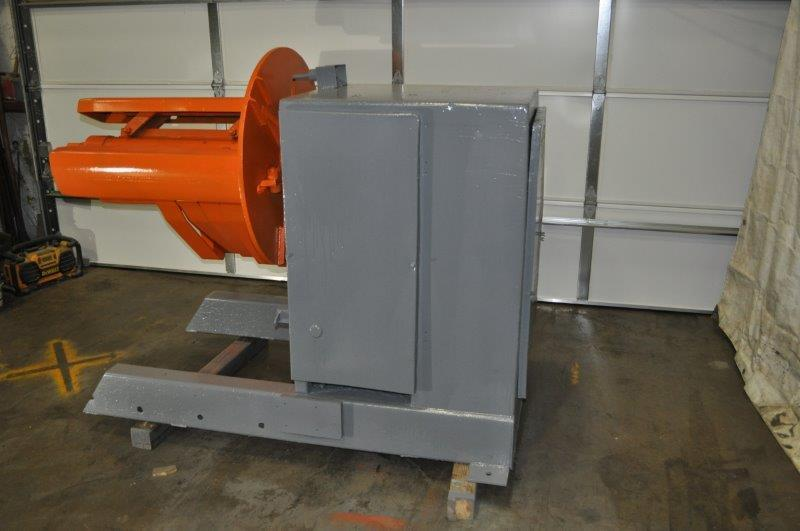"6000 LB x 36"" American Steel Line Motorized Uncoiler"