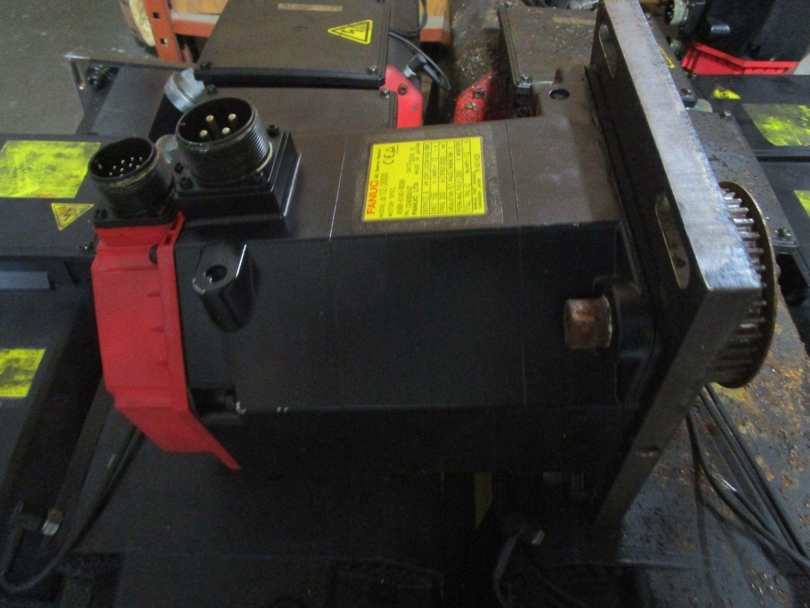 Fanuc Servo Motor Alpha C12/3000 A06B-0143-B089