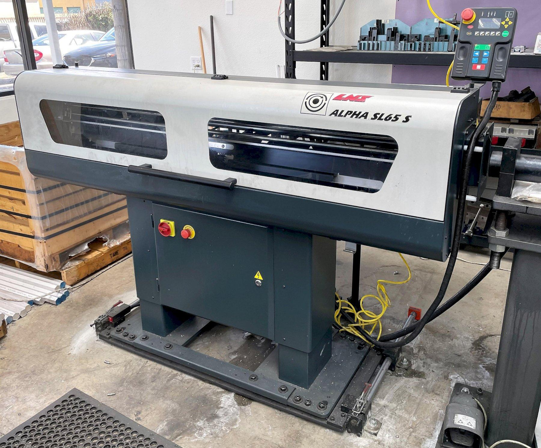 Eurotech Rapido B436-Y2 CNC Turning Center 2016 with: Two Spindles and Two Turrets, Y-Axis on Both Turrets, HPC, Parts Catcher, Chip Conveyor, and Bar Feeder.