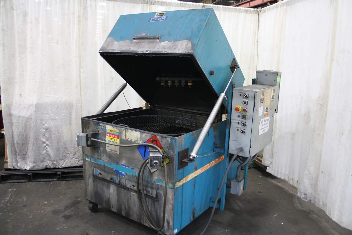36' ADF MODEL 200 ROTARY HEATED PARTS WASHER: STOCK #67293