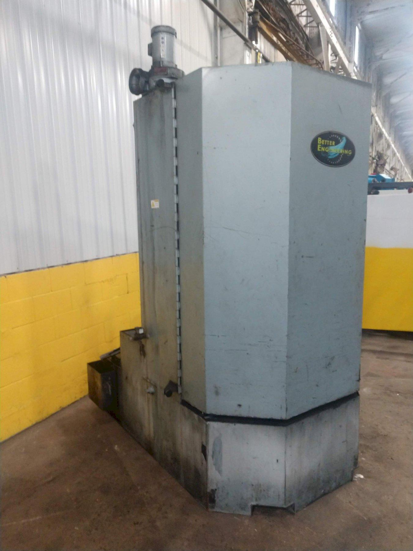 "40"" X 60"" BETTER ENGINEERING MODEL #F4000-LXP ROTARY TABLE PARTS WASHER: STOCK#12630"