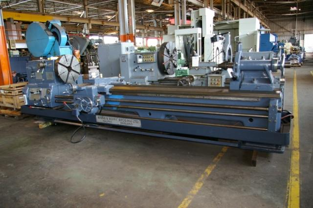 "27""/45"" X 138"" BINNS & BERRY ENGINE LATHE: STOCK #11079"