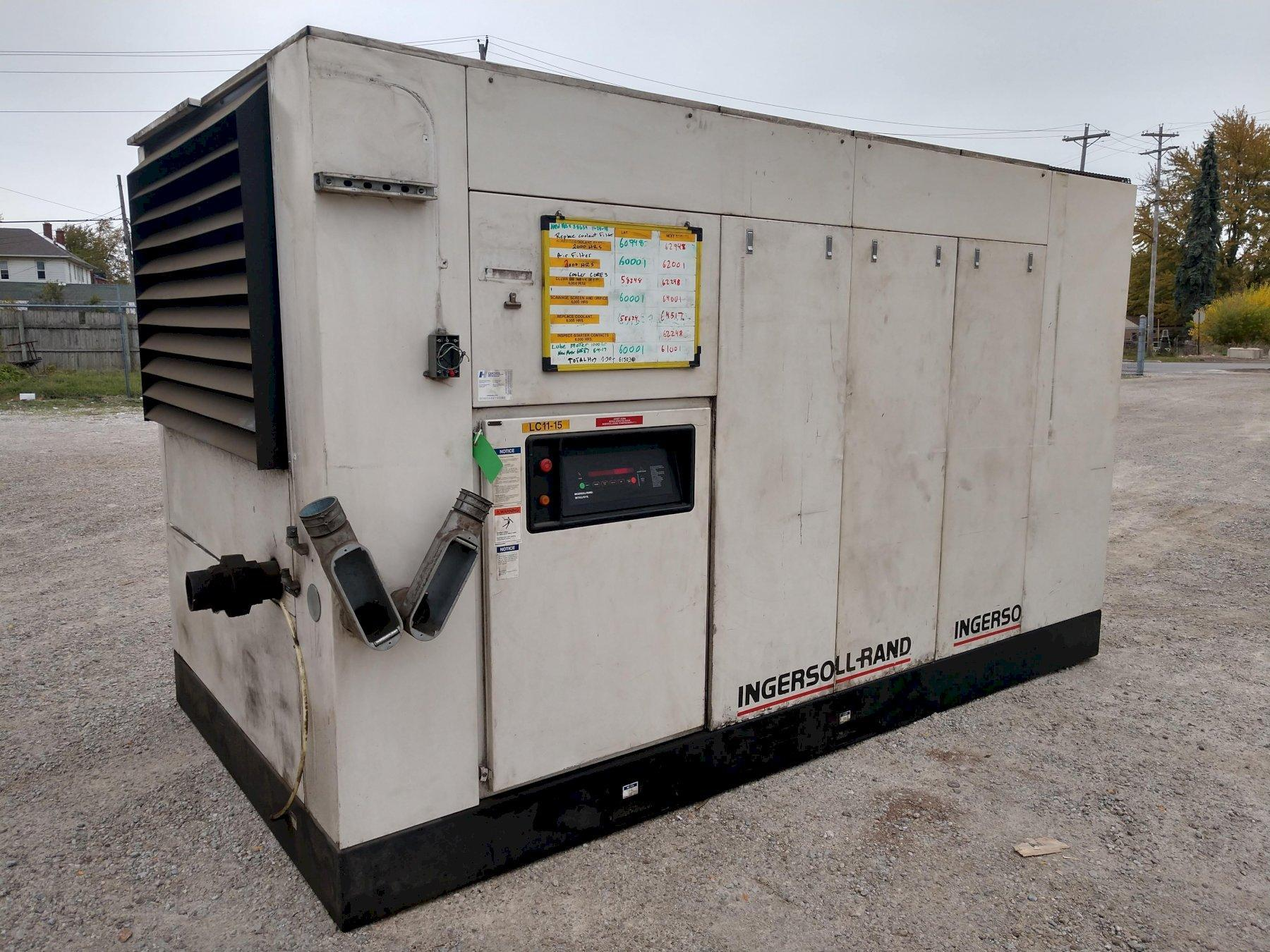 350 HP INGERSOLL RAND MODEL #SSR-XFE350-2S ROTARY SCREW AIR COMPRESSOR: STOCK #13753