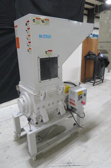 "Matsui Used SMGL-300U Granulator, 16"" x 16"", 3hp, 230V, Yr. 2014"