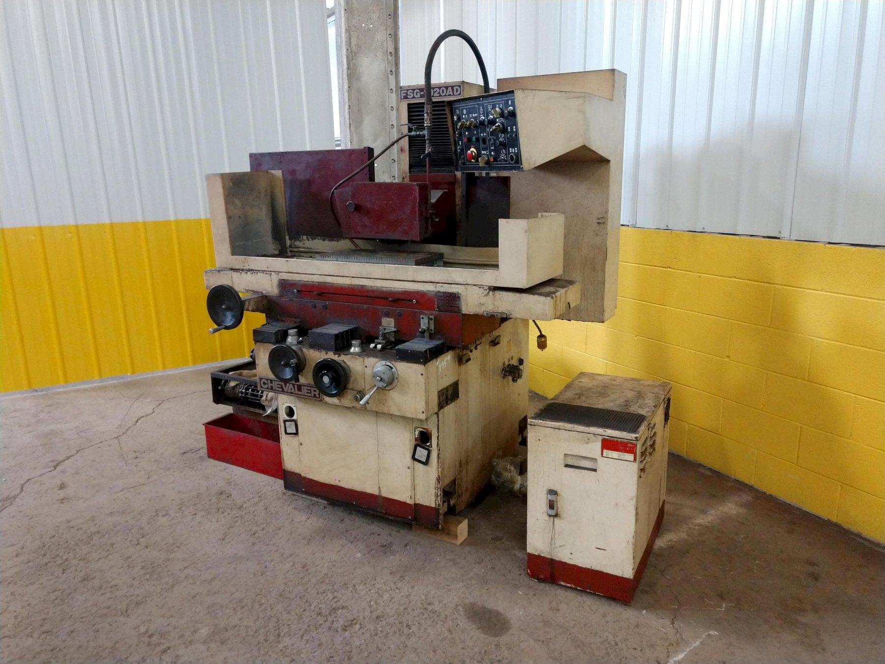 "10"" x 20"" CHEVALIER MODEL #FSG-1020AD AUTOMATIC HORIZONTAL SURFACE GRINDER: STOCK #11959"
