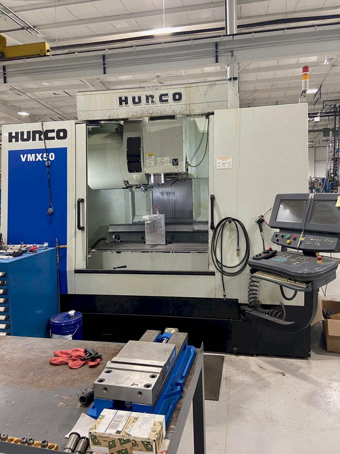 Hurco VMX-50/40 CNC Vertical Machining Center (2012)