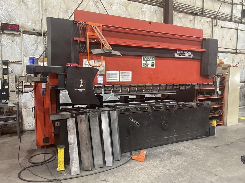 1993 Amada HFB1704, 13' x 170 Ton CNC Hydraulic Press Brake