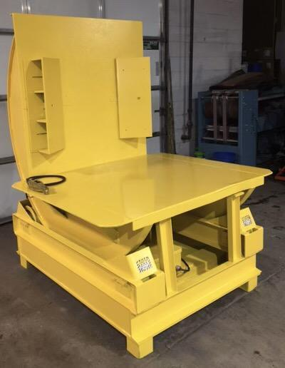 6,000 LBS CALDWELL COIL TIPPER / UPENDER: STOCK #14204