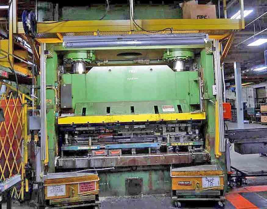 600 Ton Pacific Straight Side Hydraulic Press