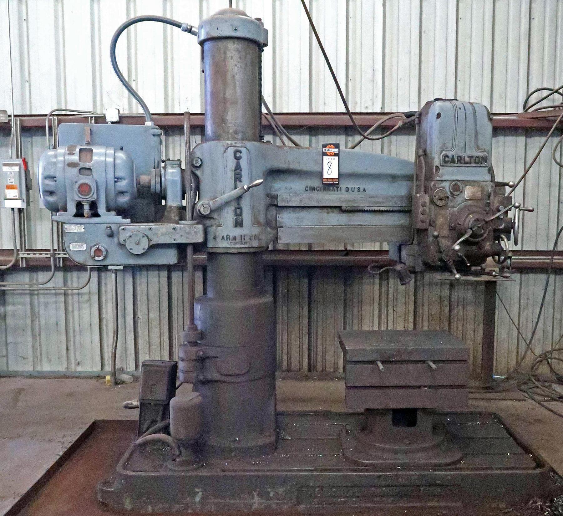 USED, CARLTON MODEL 0A RADIAL ARM DRILL