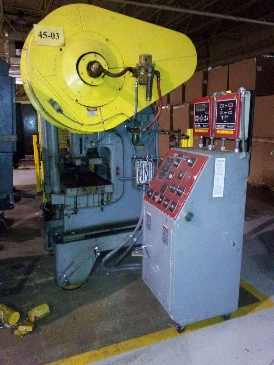 45 TON MINSTER MODEL B1-45 SSDC HIGH SPEED PRESS: STOCK #68206