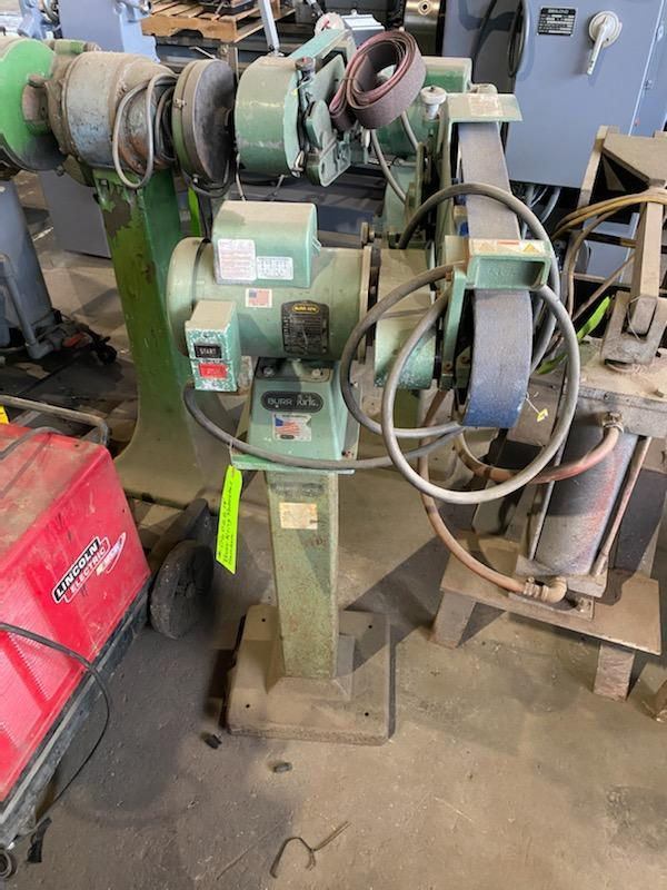 "Burr King X400 2"" x 48"" Belt Sander"