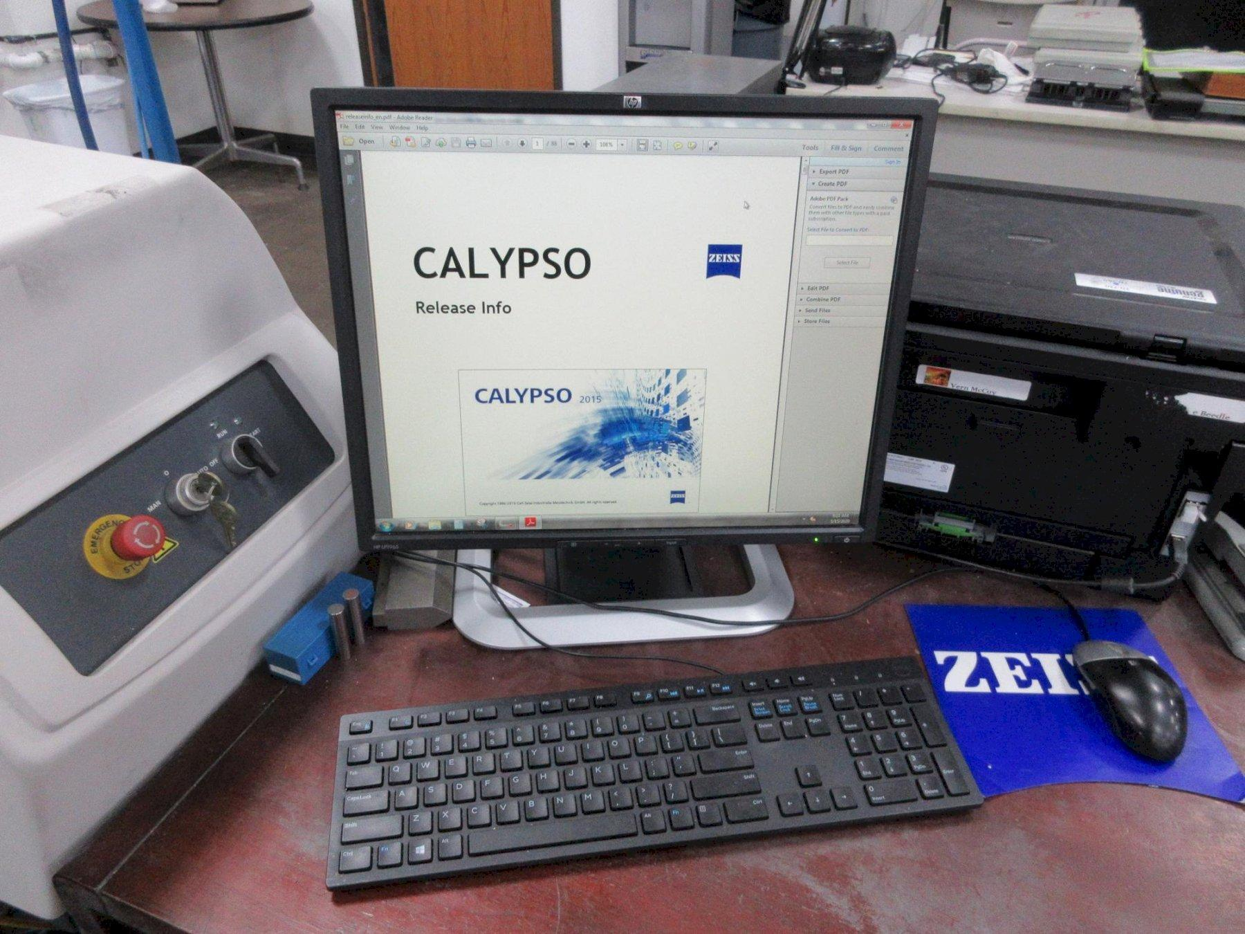 Zeiss Contura G2 RDS 10/12/6 Coordinate Measuring Machine (CMM)