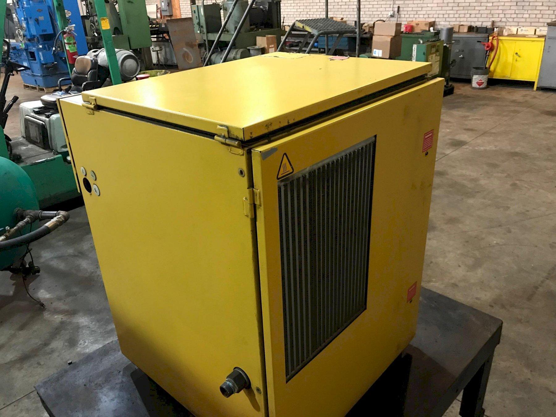 20 Hp Kaeser SK 26 Rotary Screw air compressor, 92 cfm air capacity @ 110 psi
