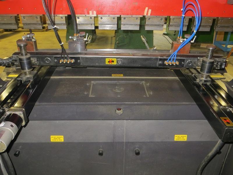 55 Ton x 82 in Amada CNC Hydraulic Press Brake Model FBD-5020E