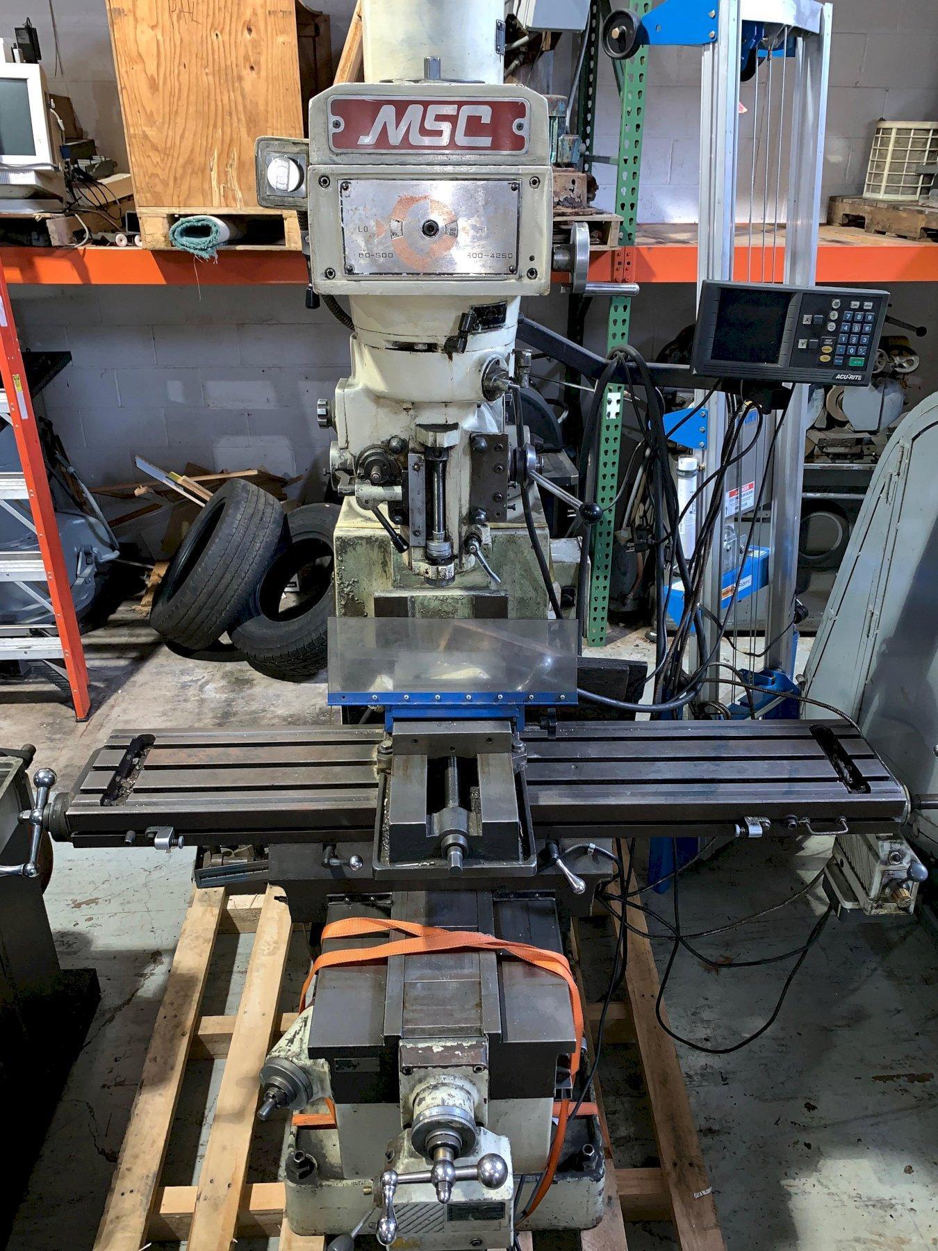 MSC Vertical Milling Machine