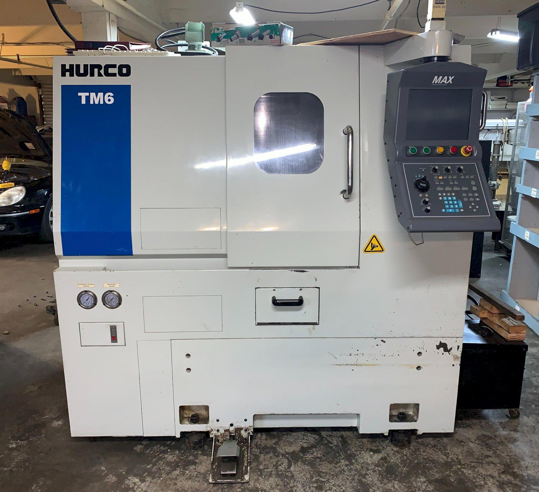 Hurco TM6 CNC Lathe, New 2006, with Hurco Max Control