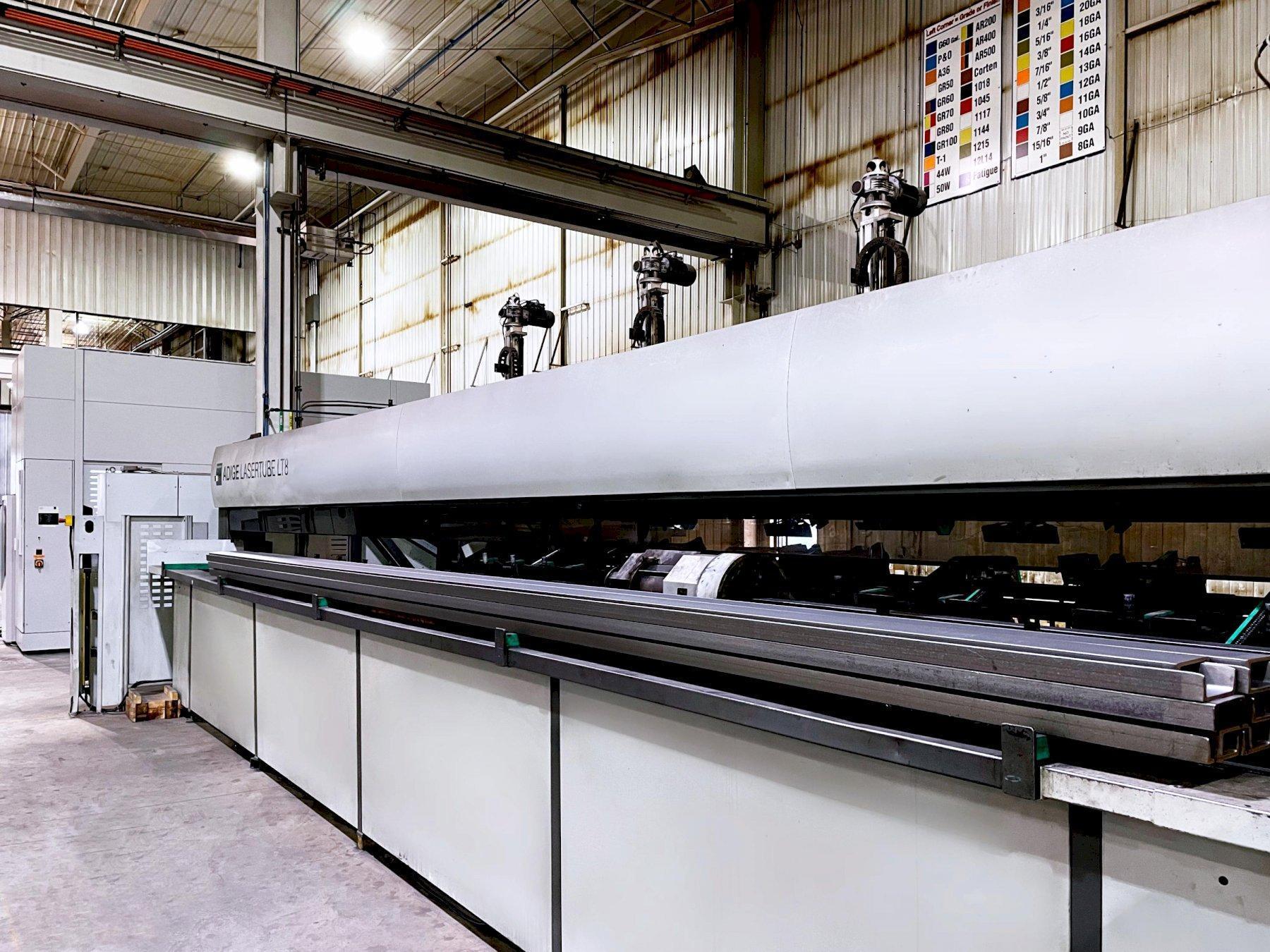 BLM LT8 2012 CO2 Tube Laser with Tilt (3D) Cutting